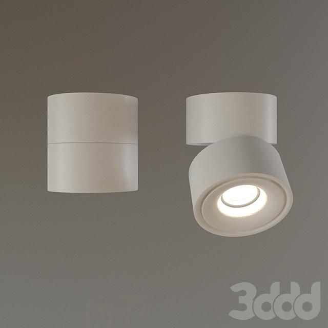 Накладной светильник DP-042BW55 белый