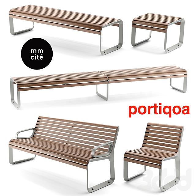 Скамейки mmcite portiqoa