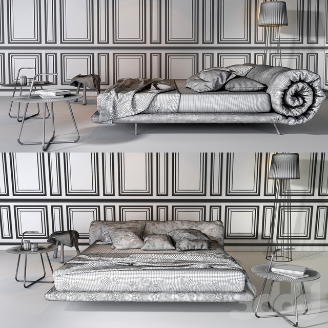 Bonaldo Blanket bed