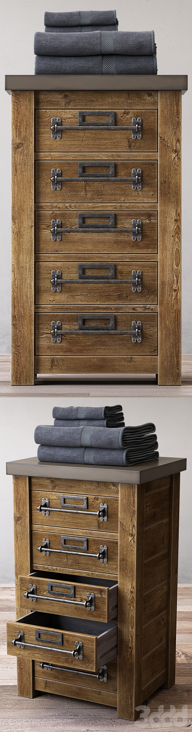 MERCANTILE SHORT BATH CABINET