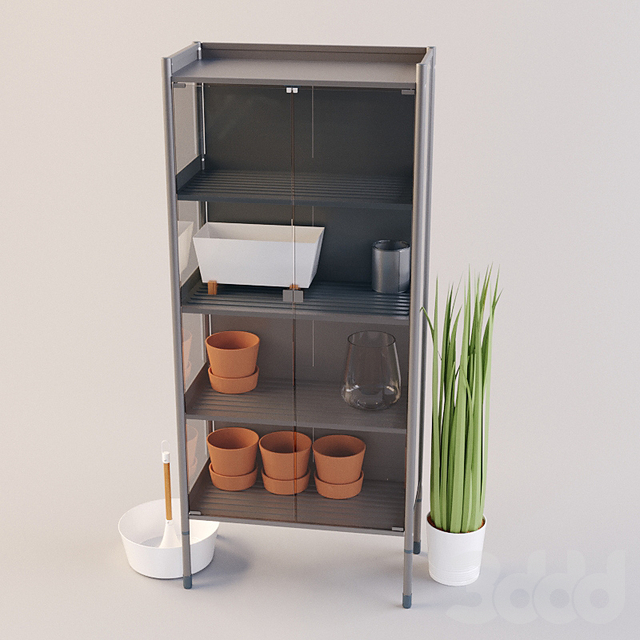 IKEA HINDE Set02 ХИНДЭ теплица стеллаж