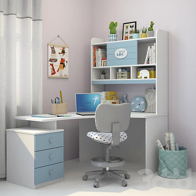 Столы для работы 3d модели работа интим в уфе девушками