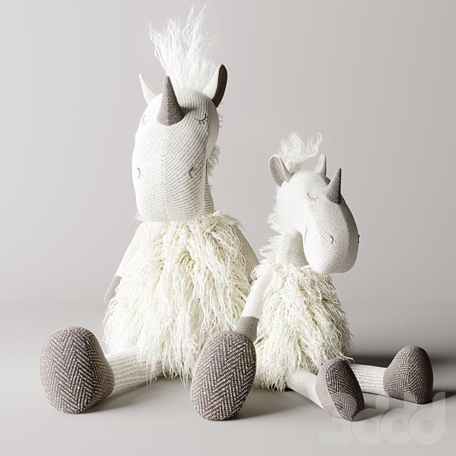 WOOLY plush unicorn
