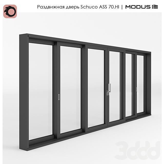 Раздвижная дверь ASS 70.HI - ST 3F