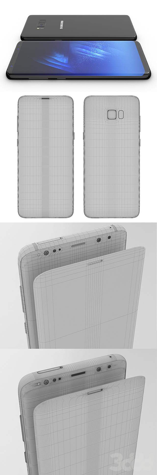 Samsung Galaxy S8 PLUS Midnight Black model