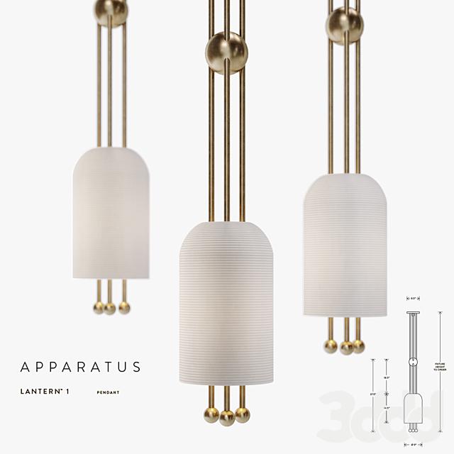 Apparatus, Lantern 1 Pendant
