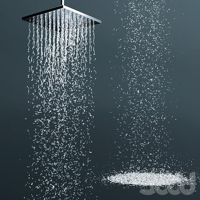 Верхний душ Jacob Delafon Katalyst E13696-CP