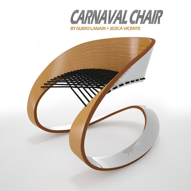 Кресло Carnaval Chair by Guido Lanari
