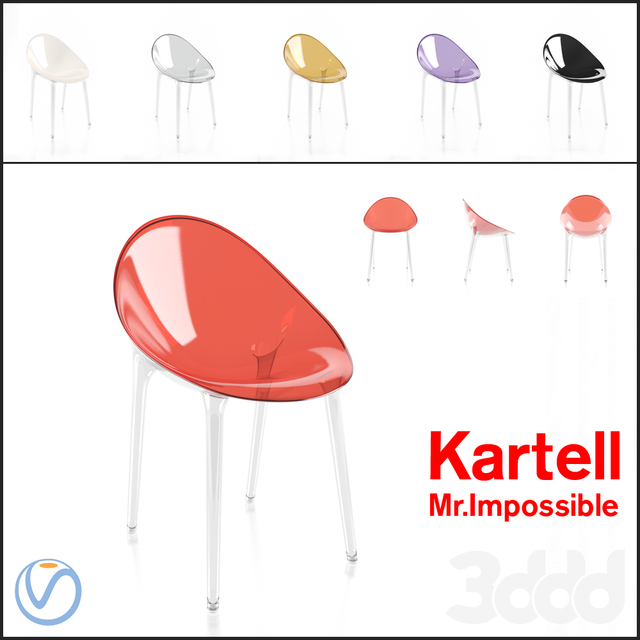 Стул Kartell Mr.Impossible