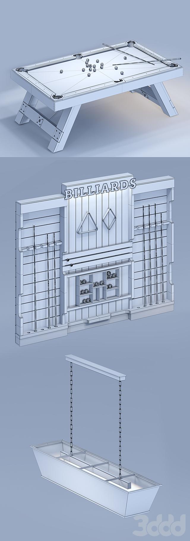 Бильярд BILLIARDS
