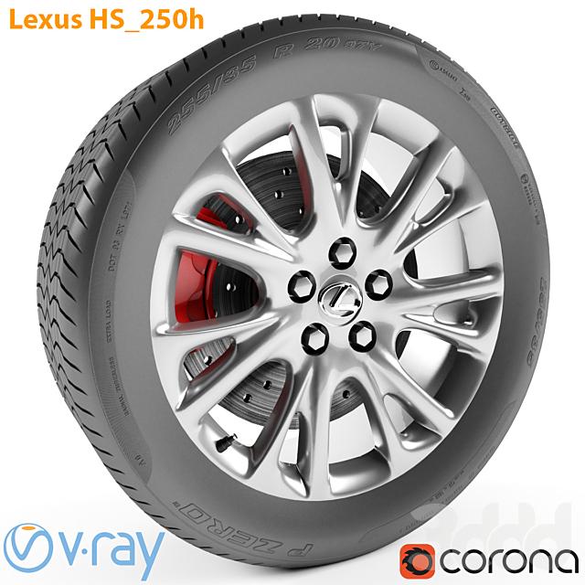 Lexus HS 250h Колесо