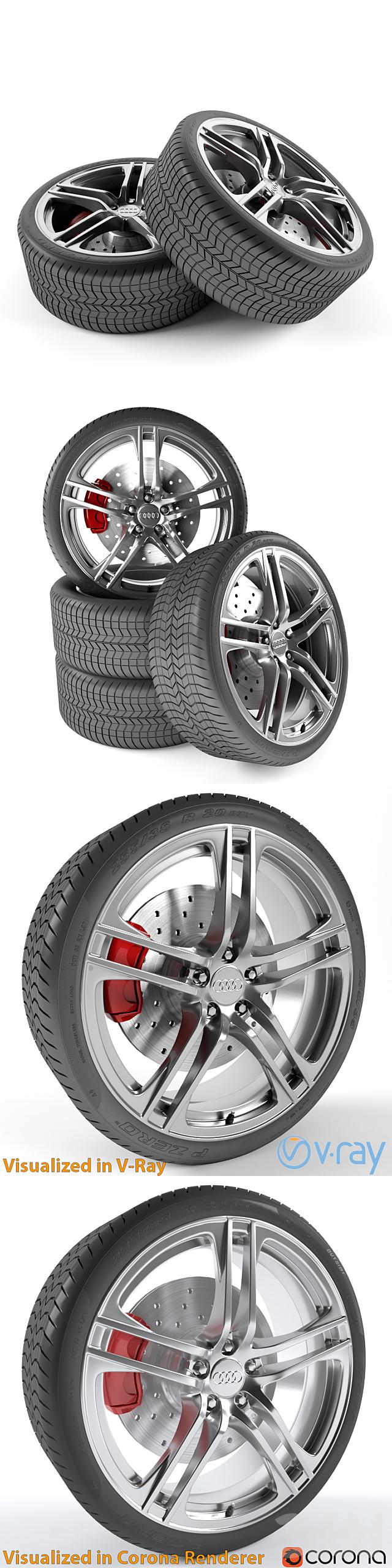 Audi R8 колесо