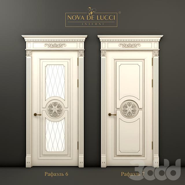 Классические двери Рафаэль 6 и Рафаэль 7