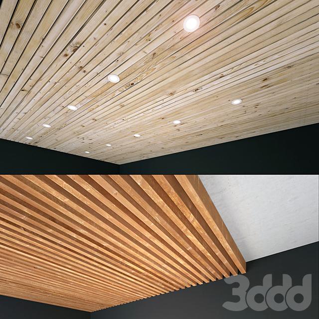 Деревянный потолок 6