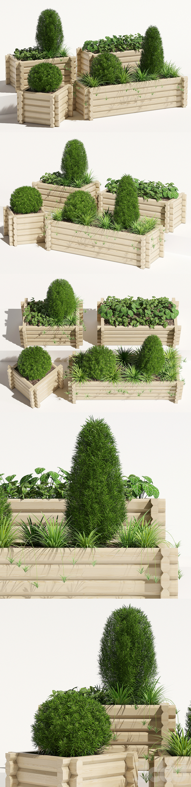 Buildround planter