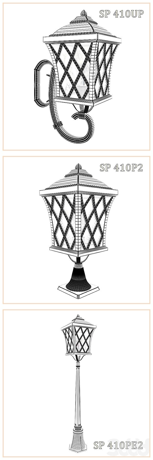 Уличные светильники Vialight SP vol.2