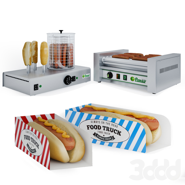 Оборудование для хот-догов Fimar