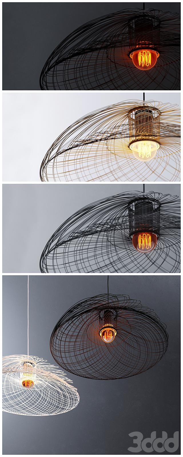 Подвесной светильник _ PENDANT LIGHT _ FORESTIER 1 _ corona _ vray