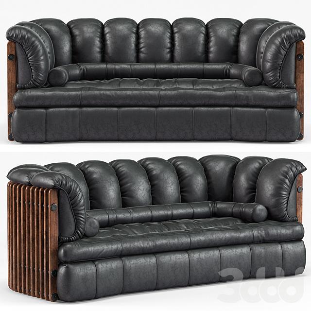 Isle D'Palm 3 Seater Sofa