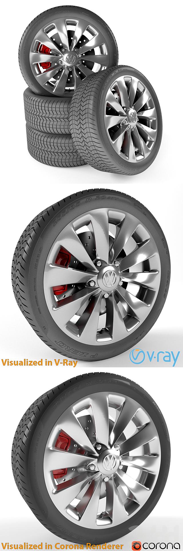 Volkswagen Scirocco Колесо