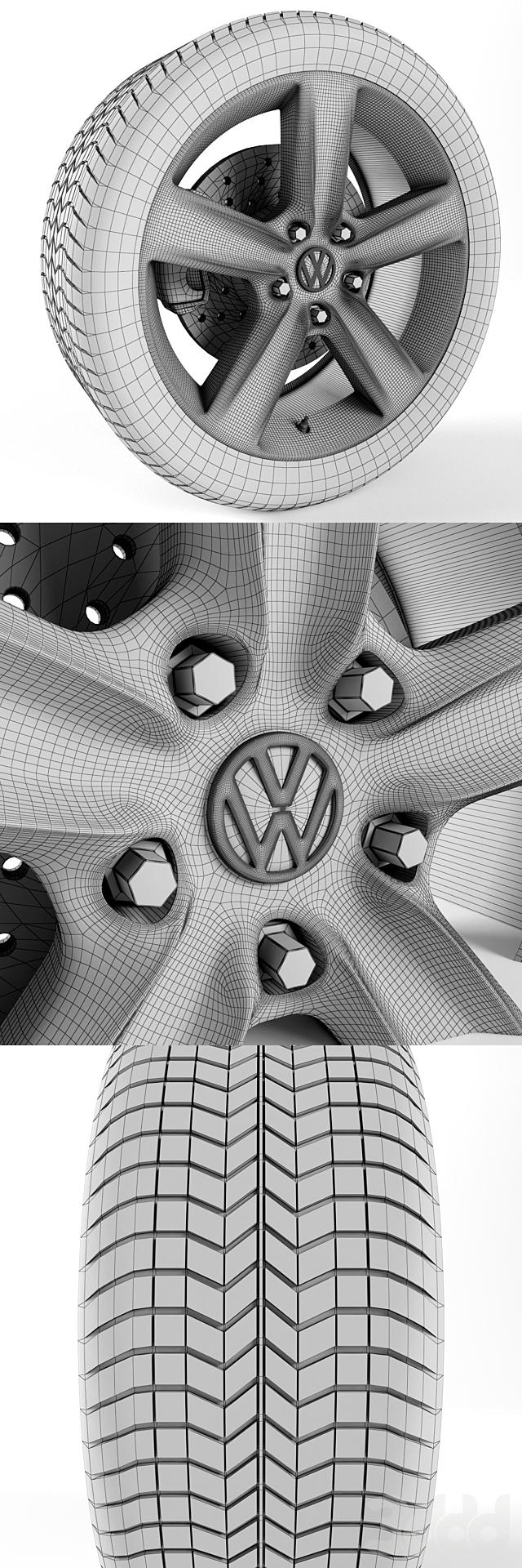 Volkswagen Touareg Hybrid Колесо