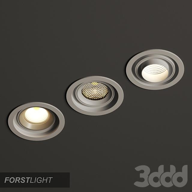 Встроенный Forstlight Modular Round