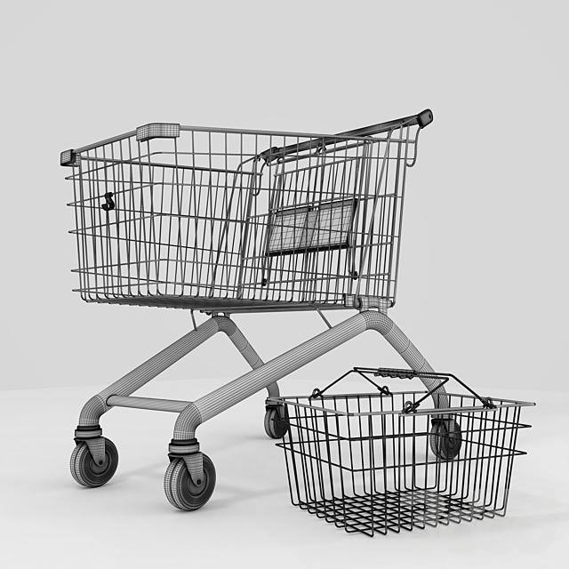 Набор корзин для магазина