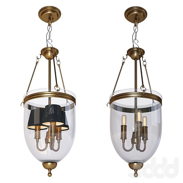 Подвесная люстра - Lantern Cameron S от фабрики Eichholtz
