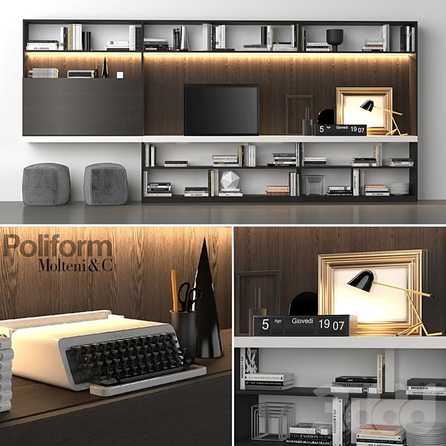 Poliform_Storage_wall_MOLTENI_C