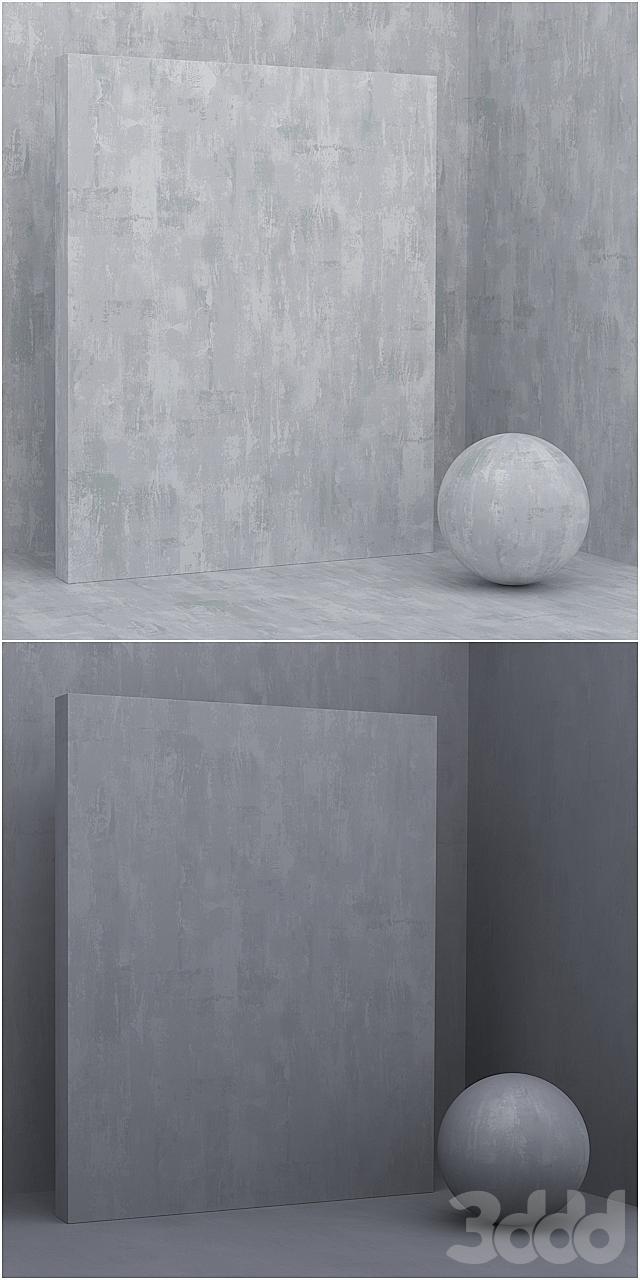 5 материалов (бесшовный) - камень, штукатурка - set 16