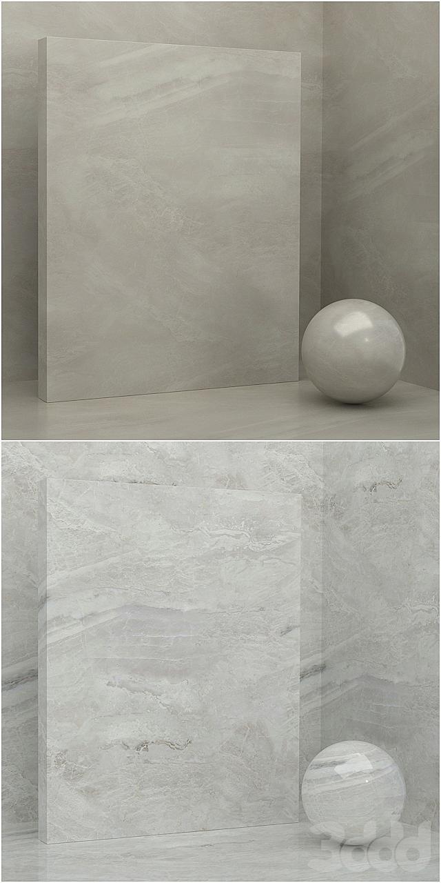 5 материалов (бесшовный) - камень, штукатурка - set 17