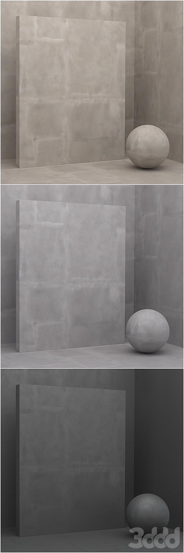 9 материалов (бесшовный) - камень, штукатурка - set 18