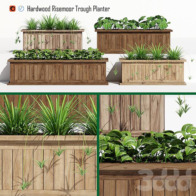 Risemoor trough planter