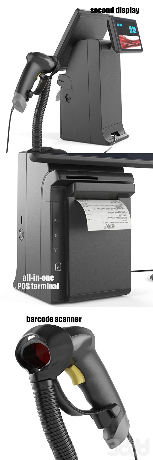All-in-one POS terminal Posiflex HS2310