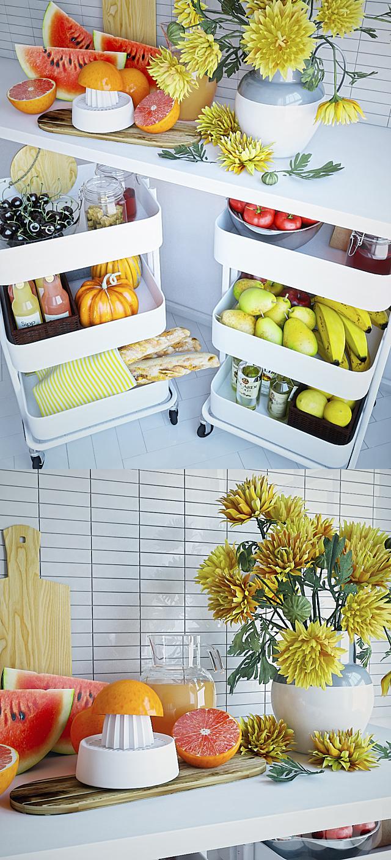 Kitchen Decor Set 3