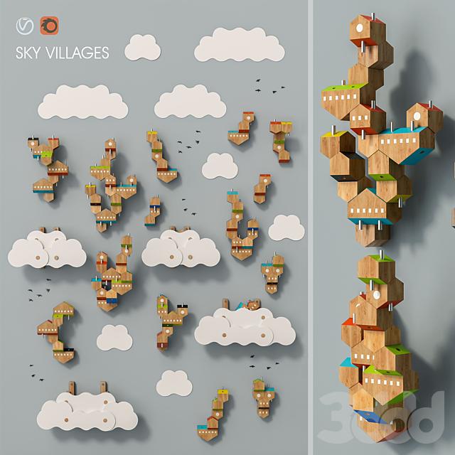 Sky Villages set 17