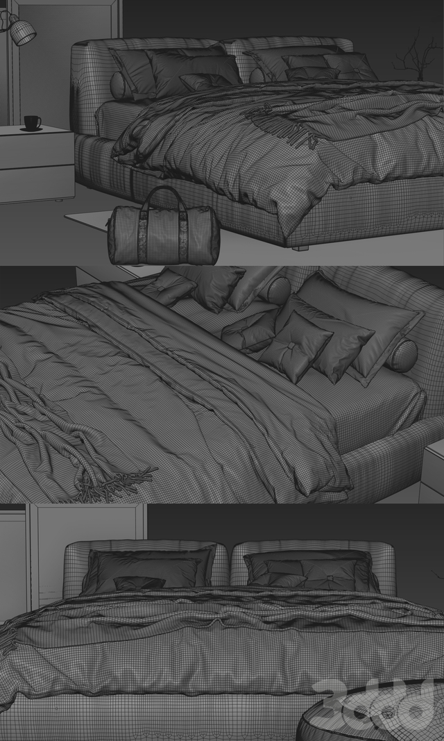 Poliform Bolton Bed