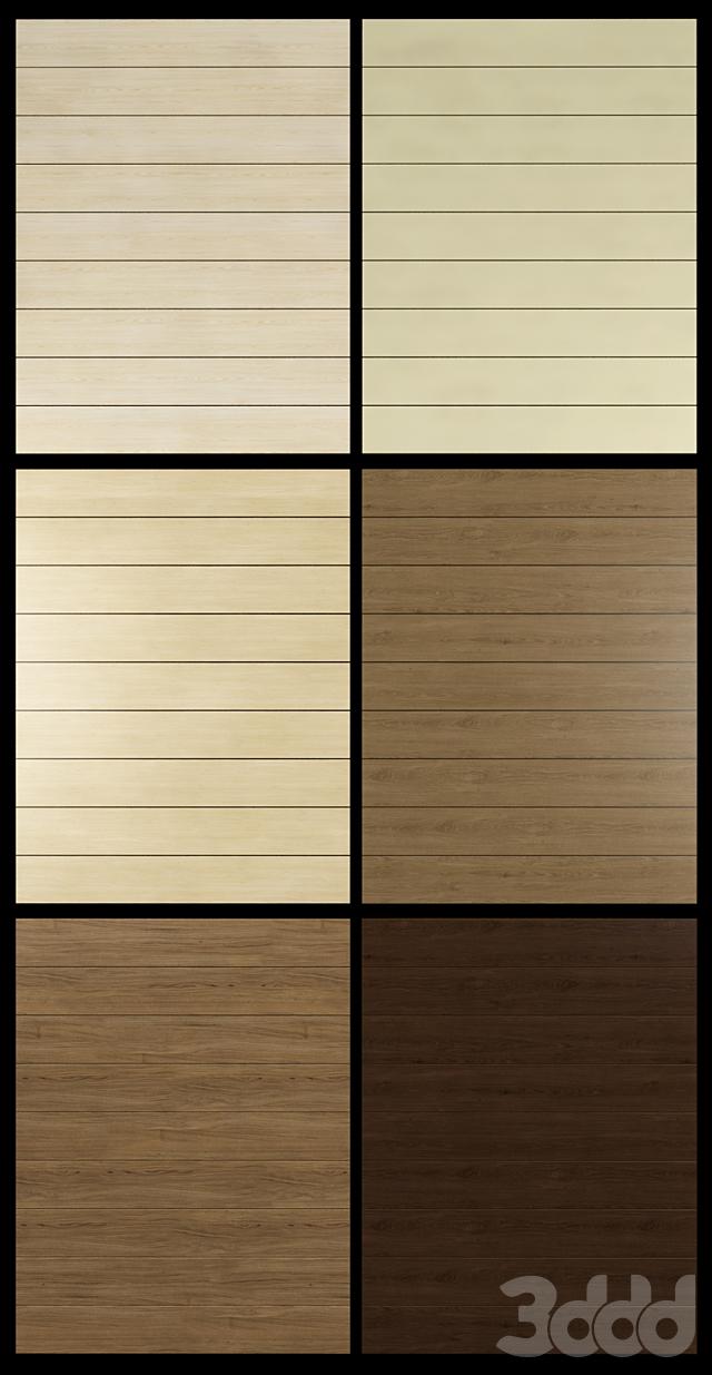 Акустические декоративные панели 6 видов, набор 8