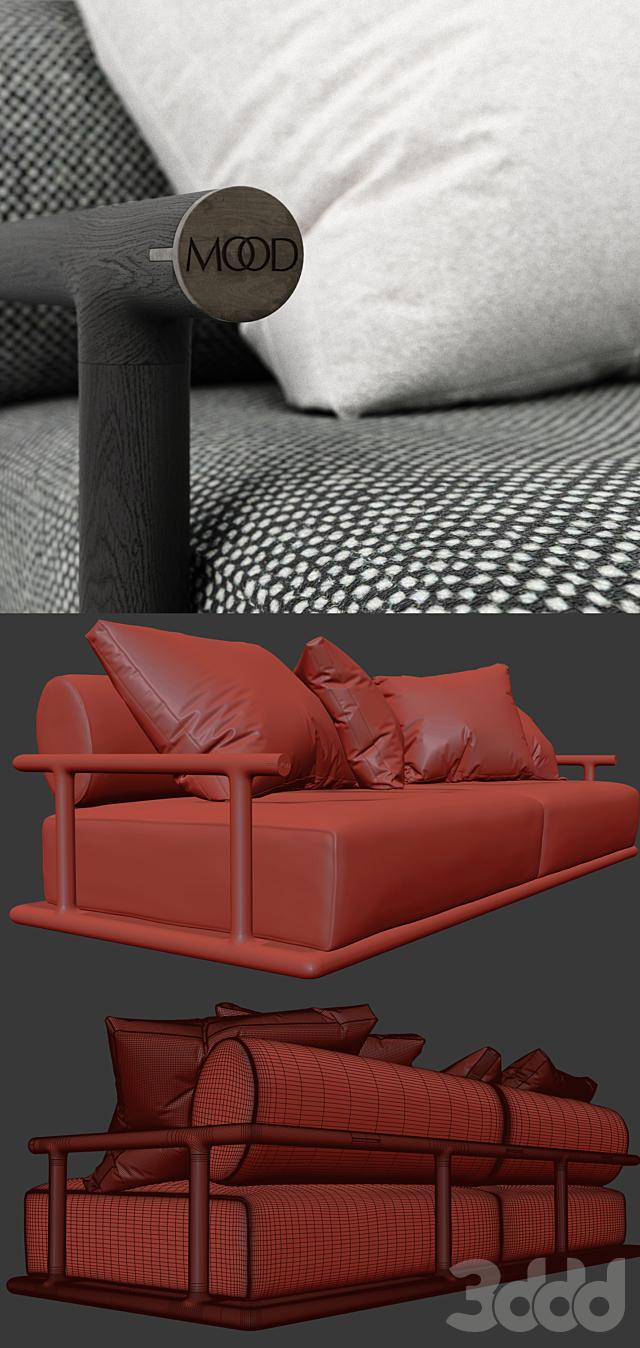 Flexform Mood Icaro Sofa