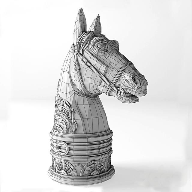 L_objet_Horse_Bookend_DAC1053