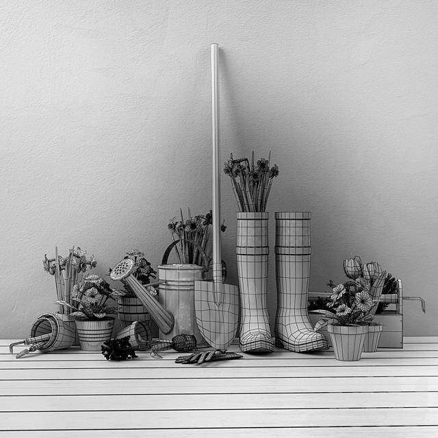 Декоративный набор для сада-огорода