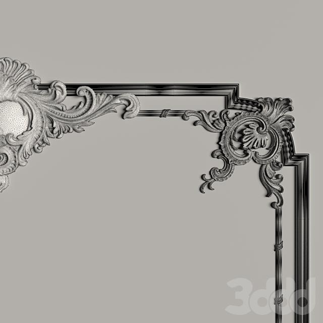 Декоративное зеркало №3