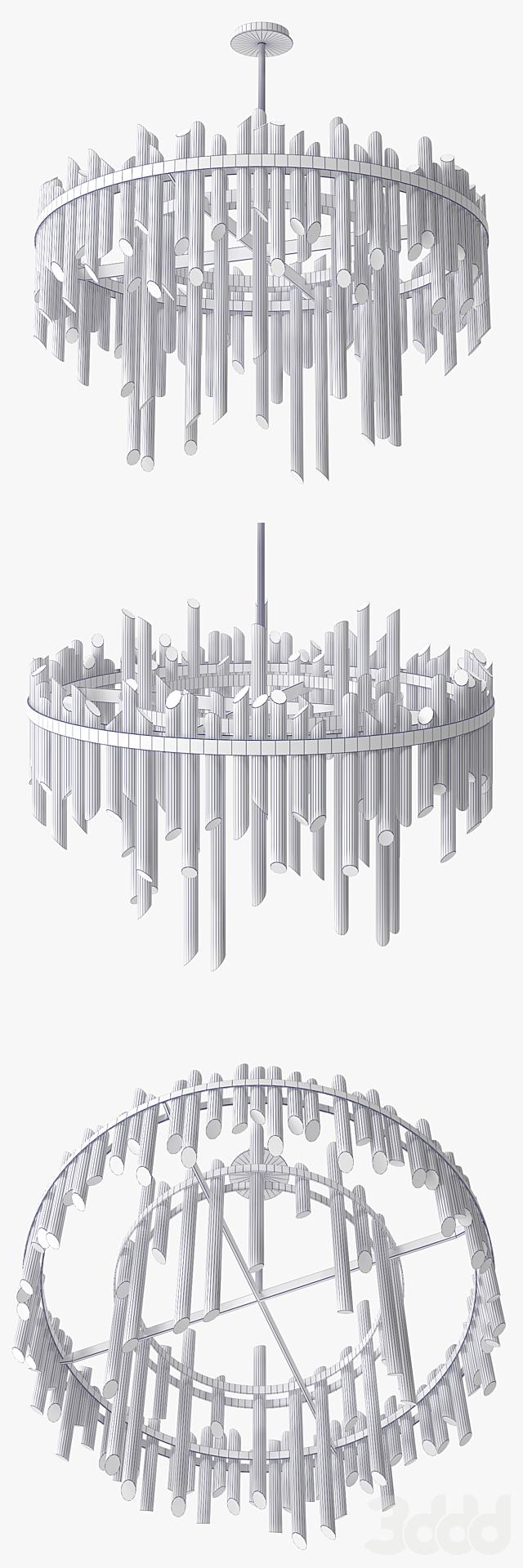 Wired Custom Lighting Hale Chandelier