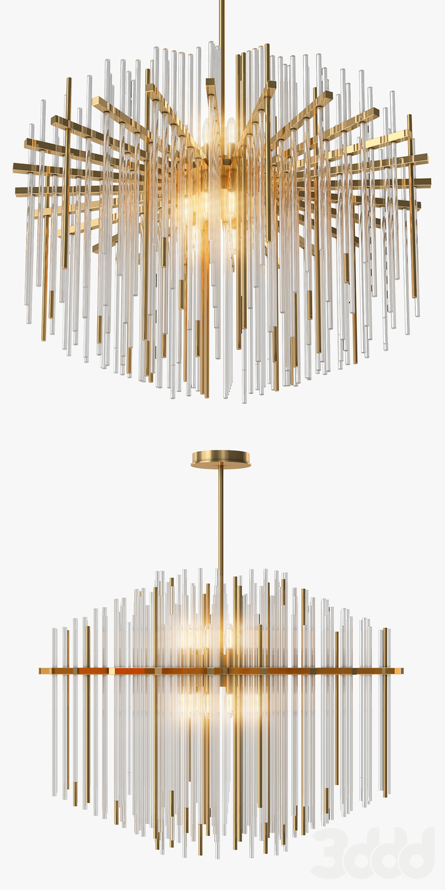 Wired Custom Lighting Strauss Chandelier