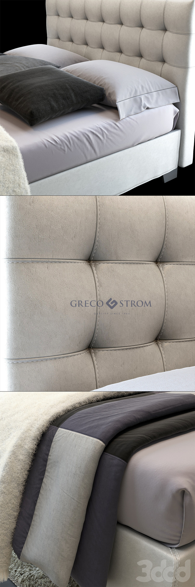 Bed LEGEND by Greco Strom