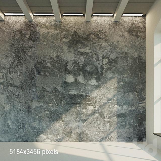 Бетонная стена (старый бетон) 6