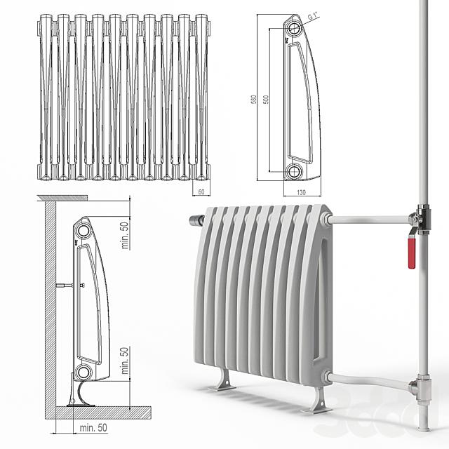 Радиатор отопления Viadrus_Style