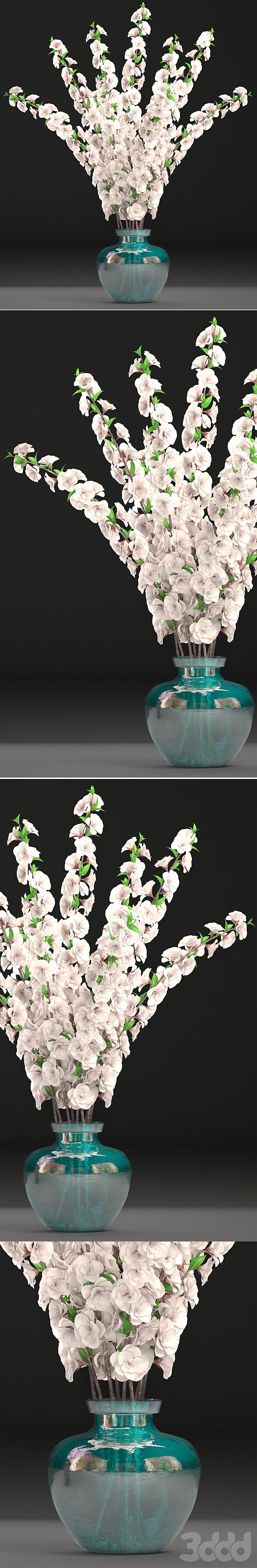 Коллекция цветов 29. Букет цветущей сакуры