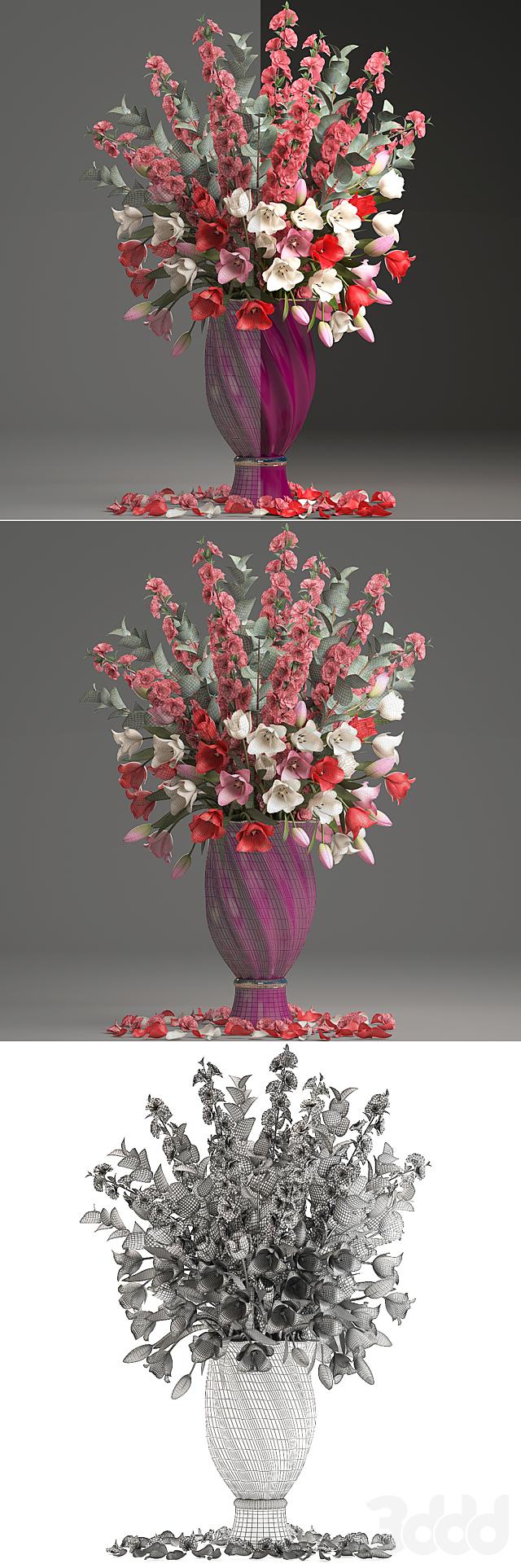 Коллекция цветов 32. Весенний букет.