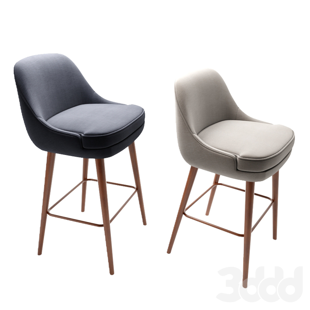 375 Walter Knoll Counter, Bar Stool, Dining & Side Chair